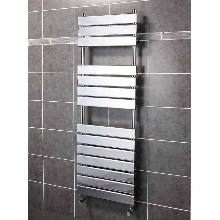 Electric Towel Rails For Bathrooms Flat Ladder Style Bathroom – Heated Towel Rails for Bathrooms