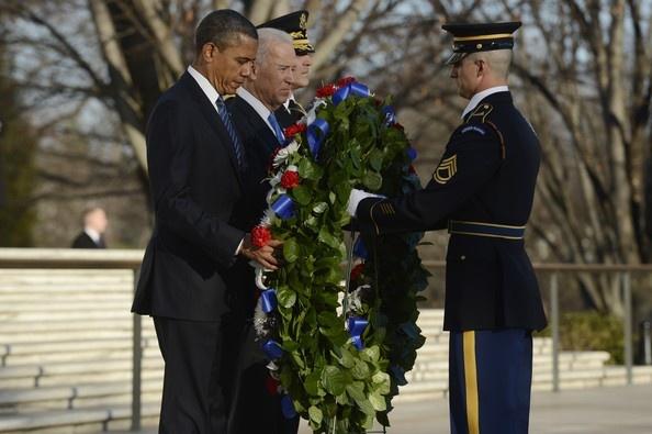president obama arlington memorial day