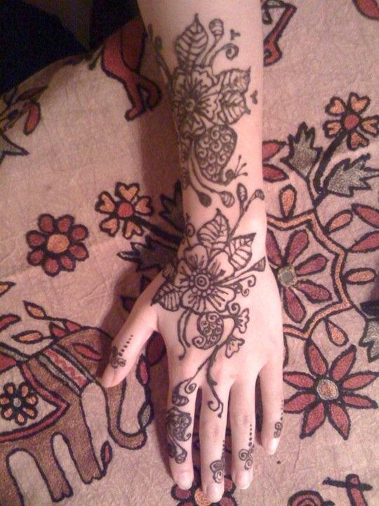 Henna Arm  Tattoos  Pinterest