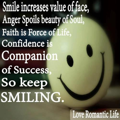keep smiling quotes inspirational thoughts pinterest