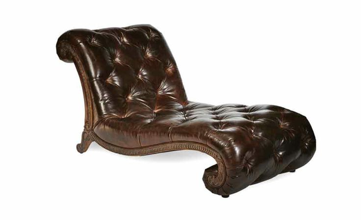 aico chaise leather tufted chaise furniture pinterest