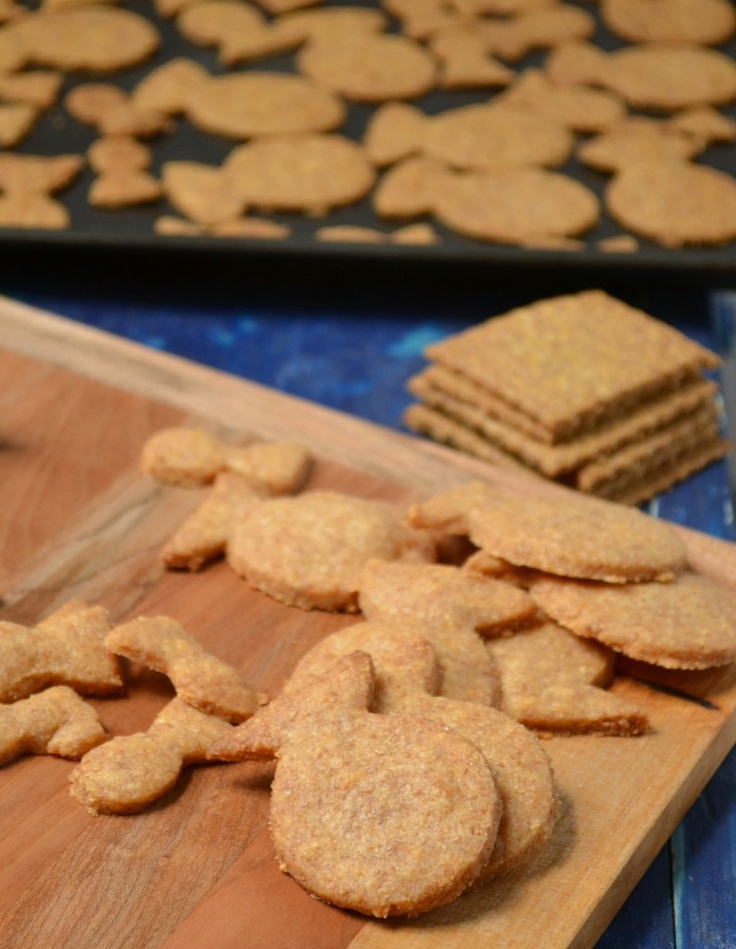 Homemade (whole wheat) Goldfish Crackers and DIY Goldfish Cookie ...