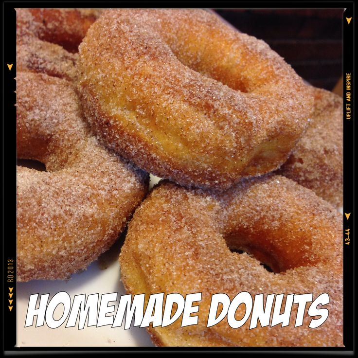 Lou Lou girls : Easy Homemade Donuts!! | Recipes- Sweets and Treats…