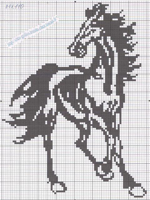 Мастер класс схемы лошадей с фото