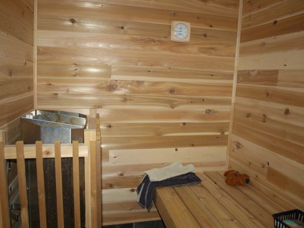 sauna bob made in basement our befores and afters pinterest