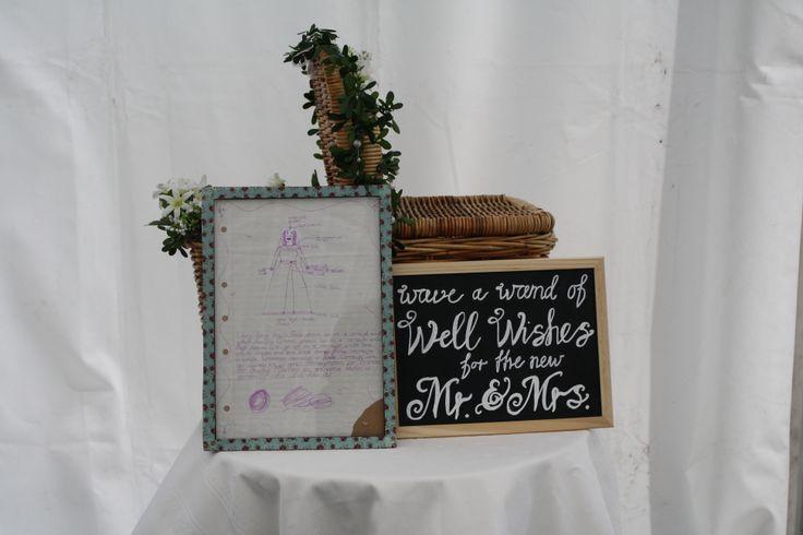 Wedding gift table - Kate Sheppard House Garden Weddings Pinterest