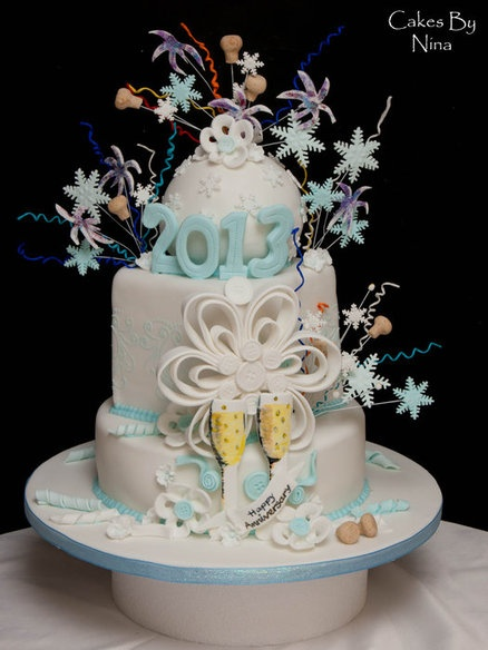 Cake Design New Year : New Year 2013 Cake by cakesbynina let them eat cake ...