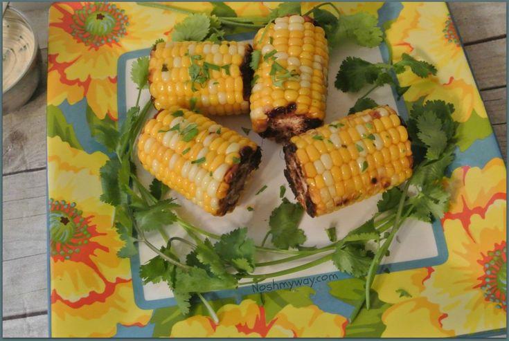 Cilantro Lime Corn On The Cob Recipe 4 Points +