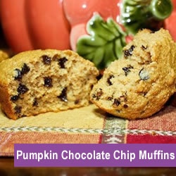 Pumpkin Chocolate Chip Muffins. I loved them, but no one else did!