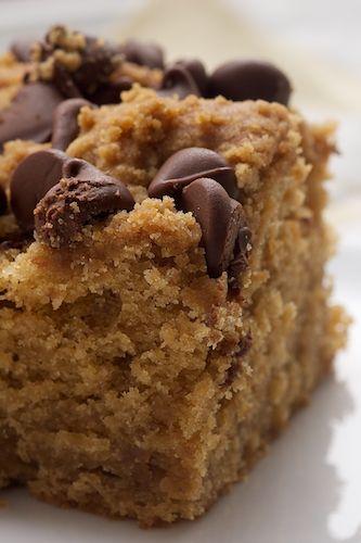 Peanut butter chocolate chip cake