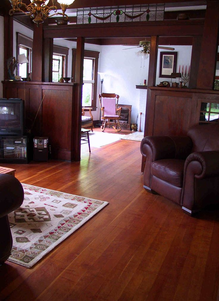 Craftsman interior craftsman style pinterest for Craftsman house interior