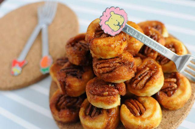 """Tiny Sticky Pecan Bites I am a """"Cinnamon Roll"""" big fan. I love all ..."""