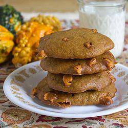 Pumpkin Butterscotch Cookies | Everything Pumpkin | Pinterest