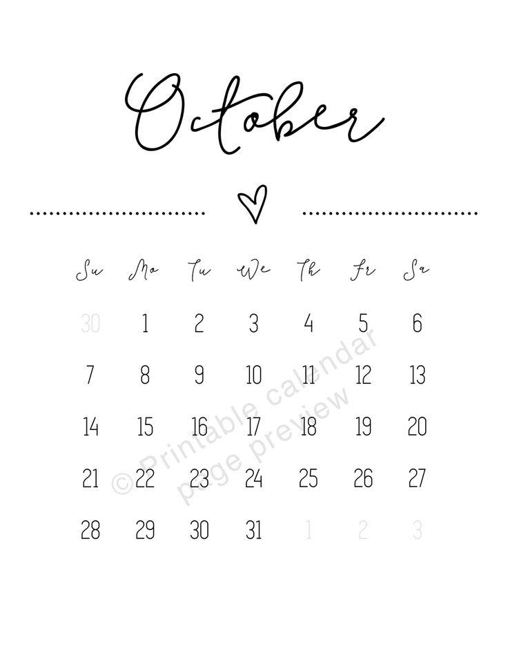41 best 2018 Calendar printables & Printable planners images on ...