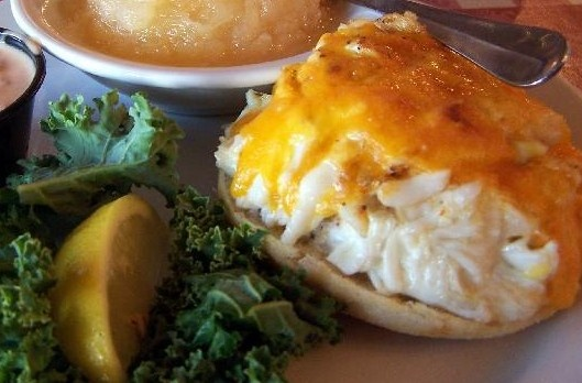 Crab and Shrimp Melt Sandwiches | Recipes to try | Pinterest