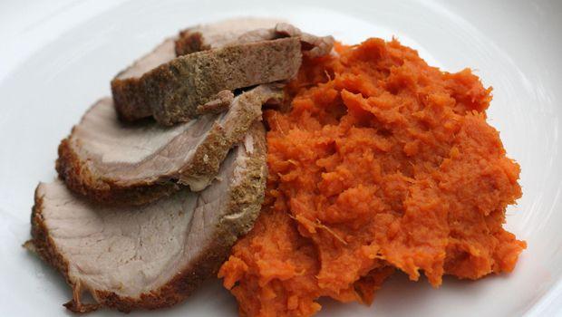 Basic Mashed Sweet Potatoes | Recipe