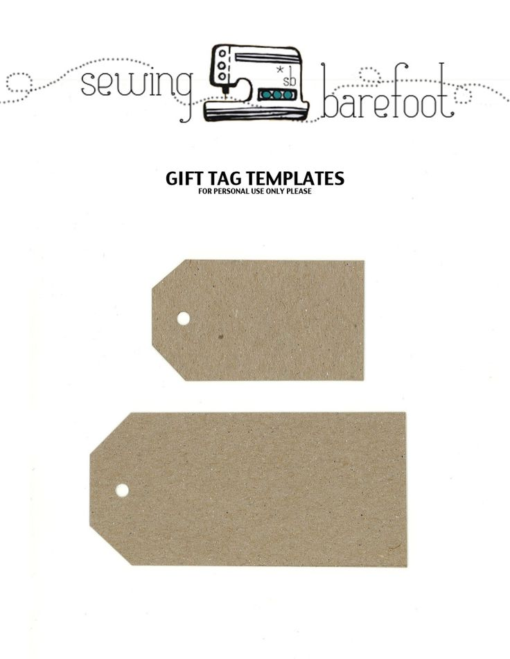 barefootshannon1's image | Free Printable Gift Tags | Pinterest