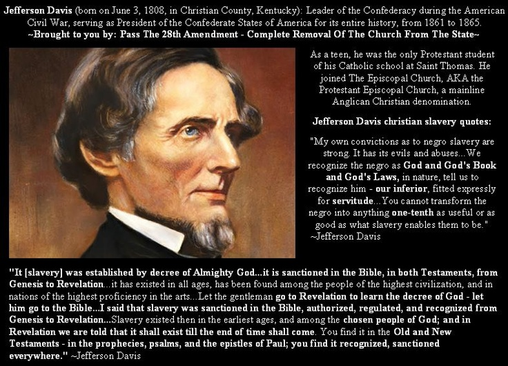 jefferson davis second inaugural address summary
