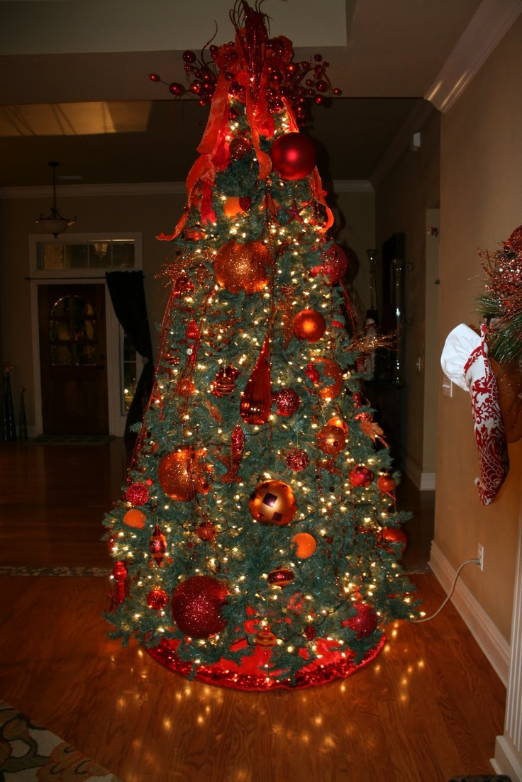 Christmas tree decor christmas decor pinterest for Christmas tree mural