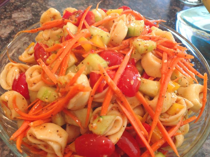 Tortellini Pasta Salad | Food: Side dishes | Pinterest