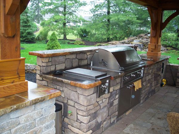 Built in grill books worth reading pinterest for Outdoor patio built in grills