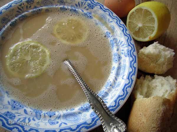Avgolemono - Sunshine soup www.karongrieve.com