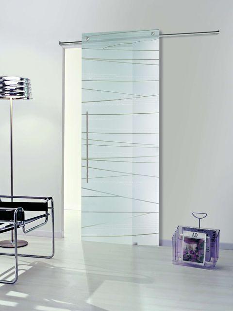 Puerta corredera de cristal casali modelo systemzero dune - Cristal puerta salon ...