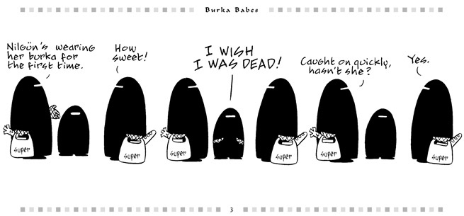 the burka and the bikini analysis The burka and the bikini represent opposite ends of the political spectrum but each can exert a noose-like grip on the psyche and physical health of girls and women.