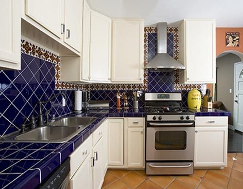 Southwestern Style Tile Backspash Kitchen A Room Of Ice And Fire