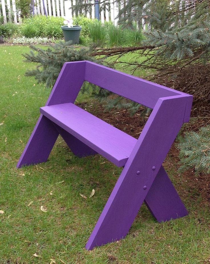 Как сделать самую простую скамейку своими руками