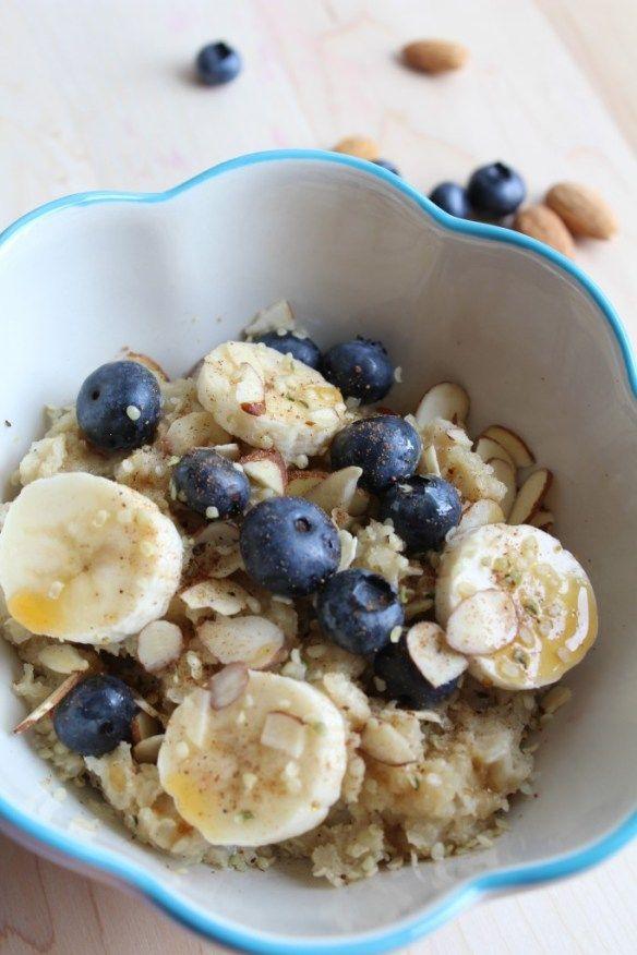 Hot Quinoa Breakfast Cereal | Food | Pinterest