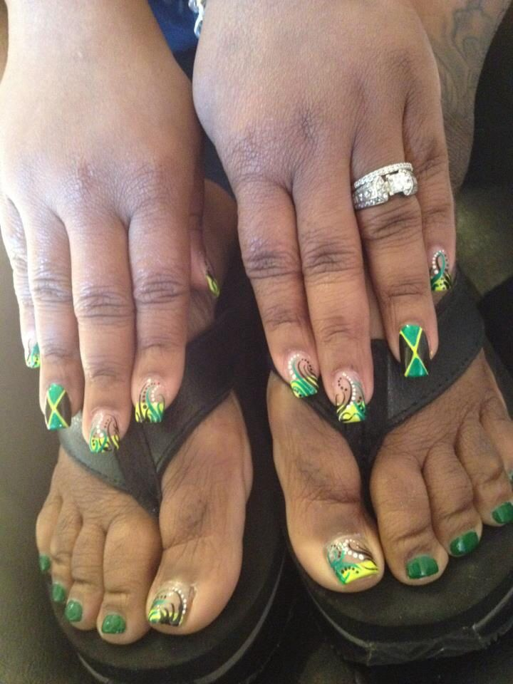 Nail Designs For Jamaica: Superfly nails august. Dfefc b cff f afb ...