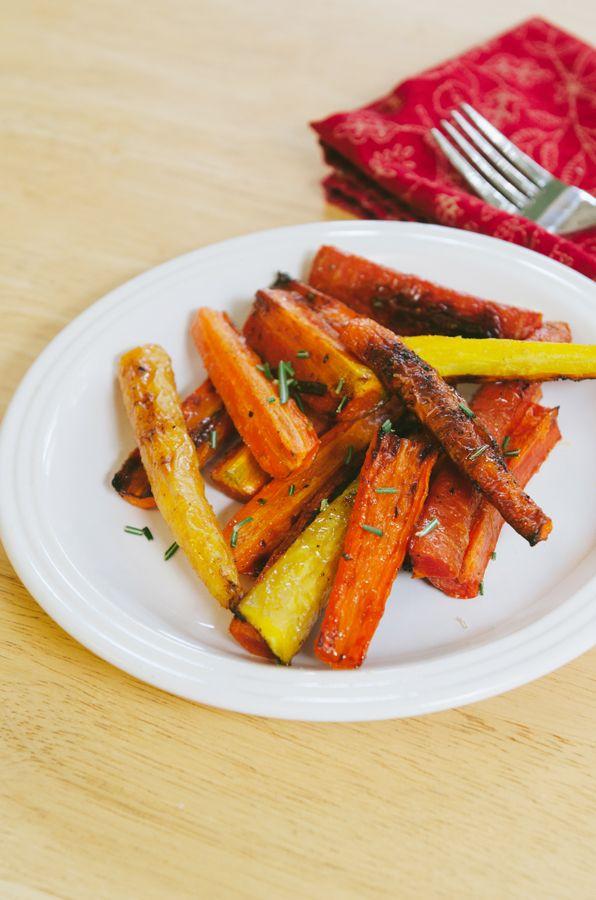 Bourbon & Honey Glazed Carrots   Food   Side Dishes   Pinterest