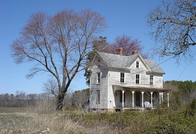Abandoned Virginian farm house