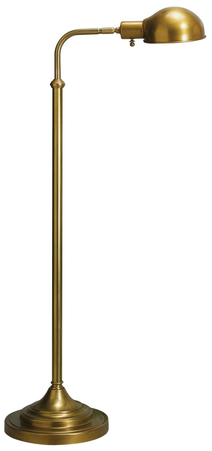 robert abbey kinetic antique brass pharmacy floor lamp. Black Bedroom Furniture Sets. Home Design Ideas