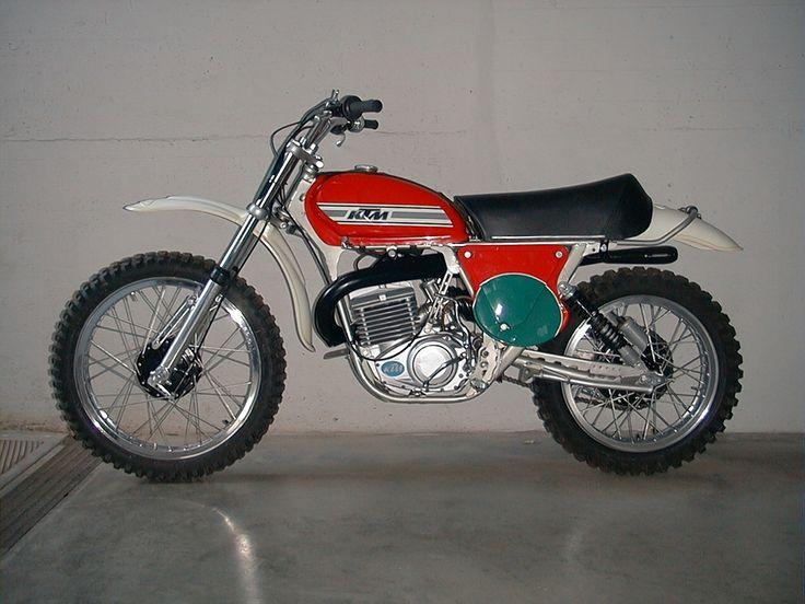 ktm 250 cross 1975 moto da cross anni 39 70 39 80 pinterest. Black Bedroom Furniture Sets. Home Design Ideas