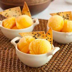 Tangerine Sorbet | FROZEN GOODIES | Pinterest