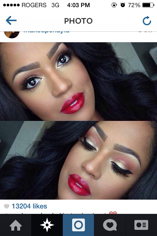 makeup by shayla. I want this for prom : Beauty : Pinterest