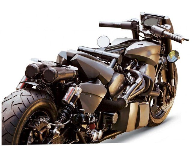 TwinTrax by The German Motorcycle Authority. / monster!