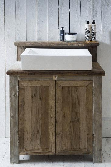Recycled Timber Vanity Farmhouse Designs Pinterest