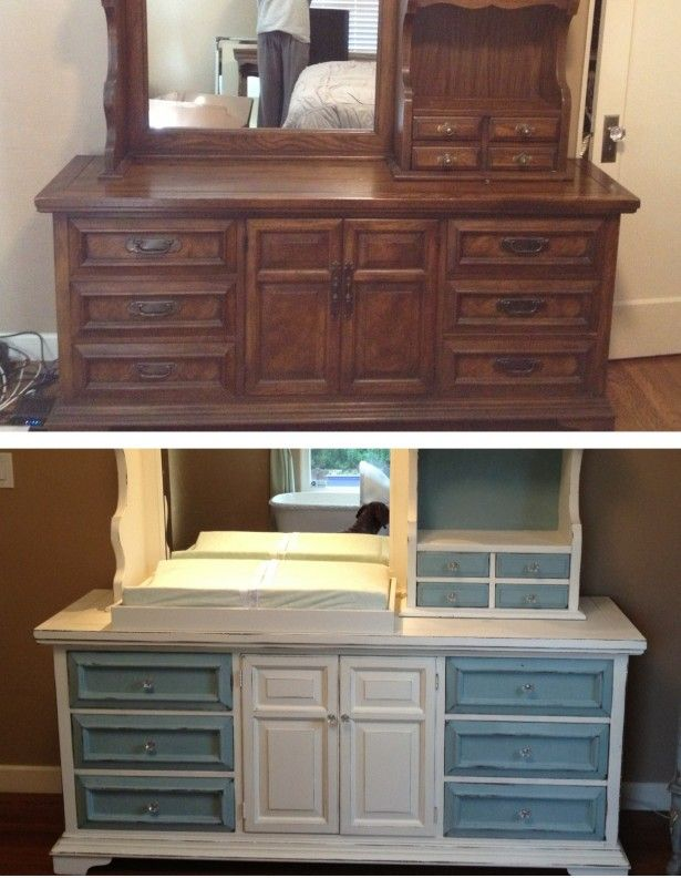 Pin by megan dardon on repurposed antiques pinterest for Repurposed furniture before and after