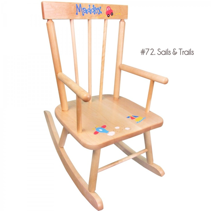 ... like this: wooden rocking chairs , natural wood and rocking chairs