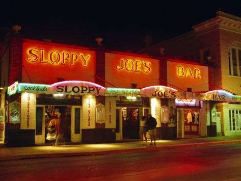 sloppy joe 39 s bar duval street key west florida usa. Black Bedroom Furniture Sets. Home Design Ideas