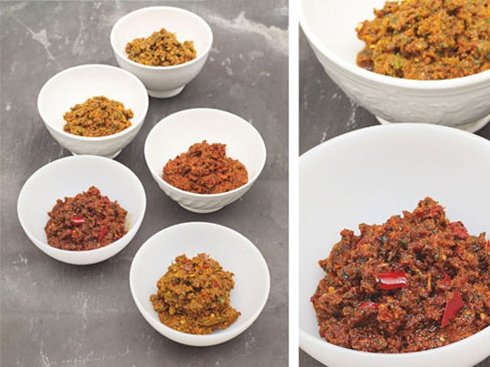 ... Ethiopian Spiced Clarified Butter (Niter Kibbeh), Harissa, Indian