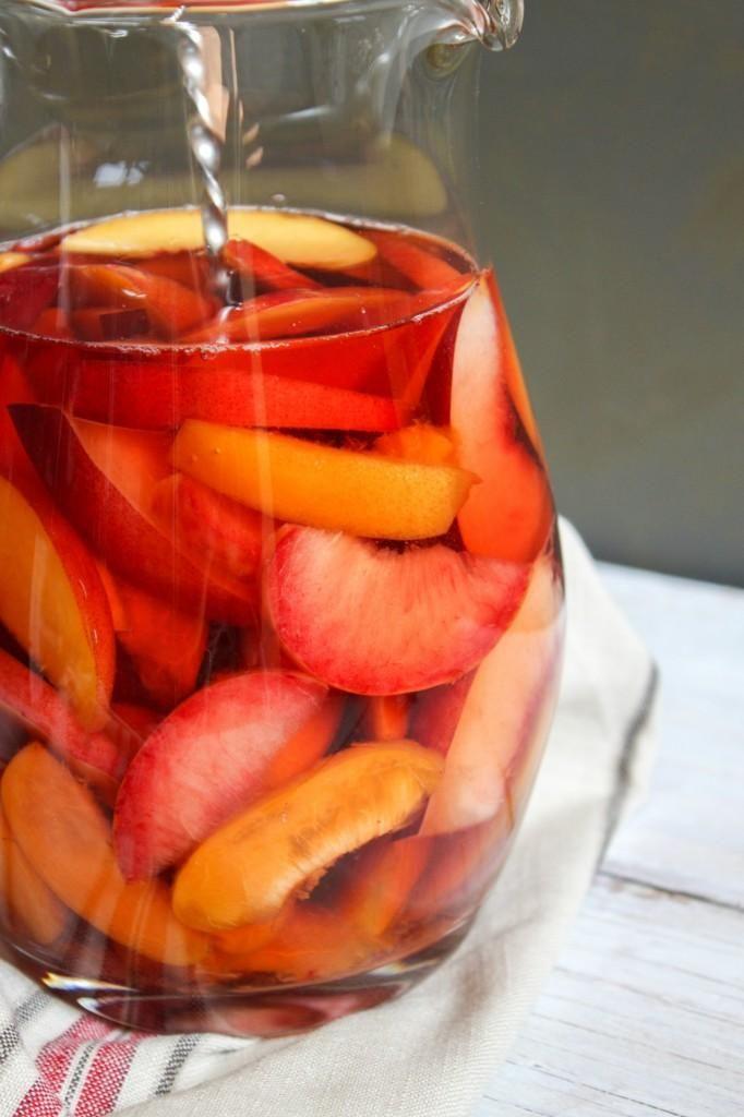 DRINKS : Stone Fruit Sangria DRINKS Recipe