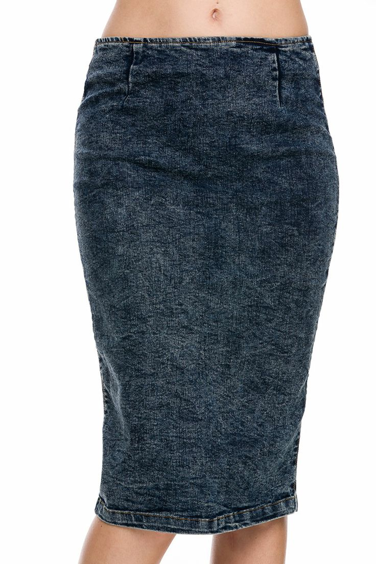denim skirt with a flair fashion at lij designs