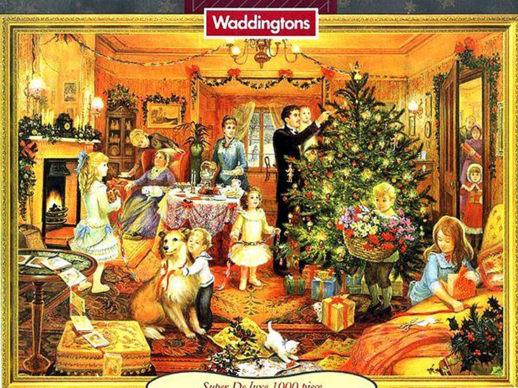 victorian christmas scenes - photo #25