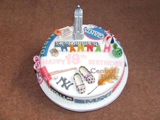 Images Of Birthday Cake New : New York Birthday Cake Cakes Pinterest