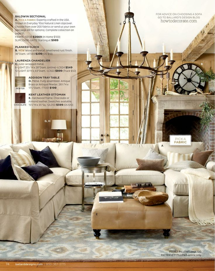 Ballard Designs Online Catalogs Living Room Pinterest