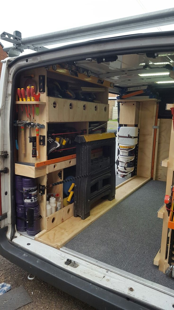 1000 ideas about van shelving on pinterest van racking. Black Bedroom Furniture Sets. Home Design Ideas